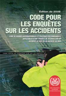 I128F - Casualty Investigation Code, 2008 French Edition