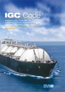 IGC Code, 2016 Edition