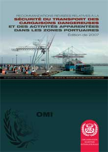 IB290F -  Recommendations of Dangerous Goods in Port Areas, 2007 French