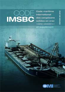 IF260F - IMSBC Code & Supplement, 2012 French Edition