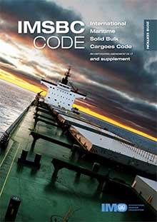 II260E - book: IMSBC Code and Supplement, 2018 Edition