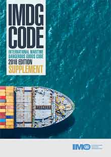 IMDG Code Supplement, 2018 Edition