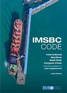 IMSBC Code and Supplement, 2020 Edition